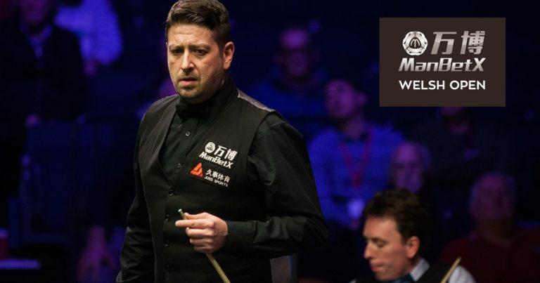 Welsh Open: первый раунд позади