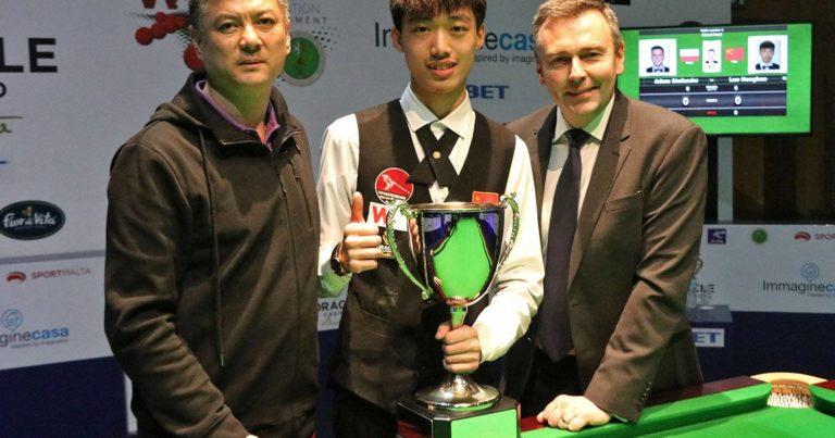 Ло Хонхао победитель международного чемпионата WSF