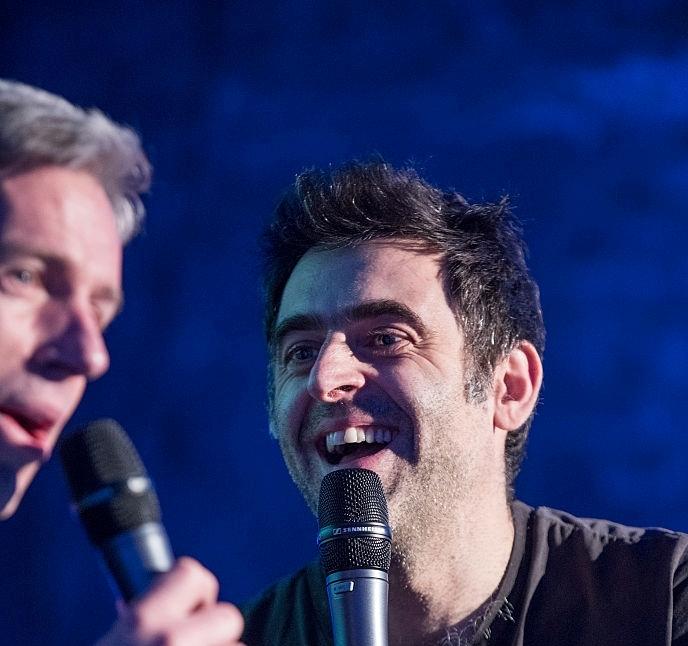 Ронни О'Салливан записал кавер на песню Snooker Loopy