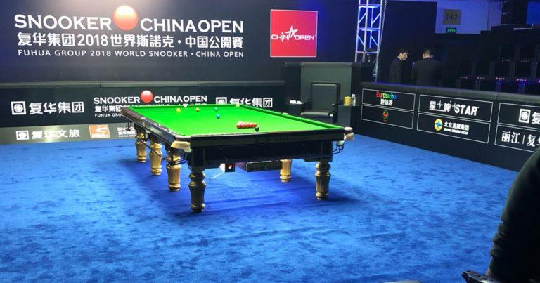 China Open 2018. День 2. 14-й максимум О'Салливана!