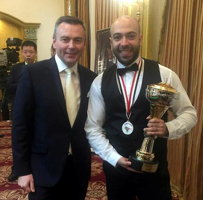 Адам Стефанов и Мохаммед Ибрагим — обладатели путевок в мэйн-тур