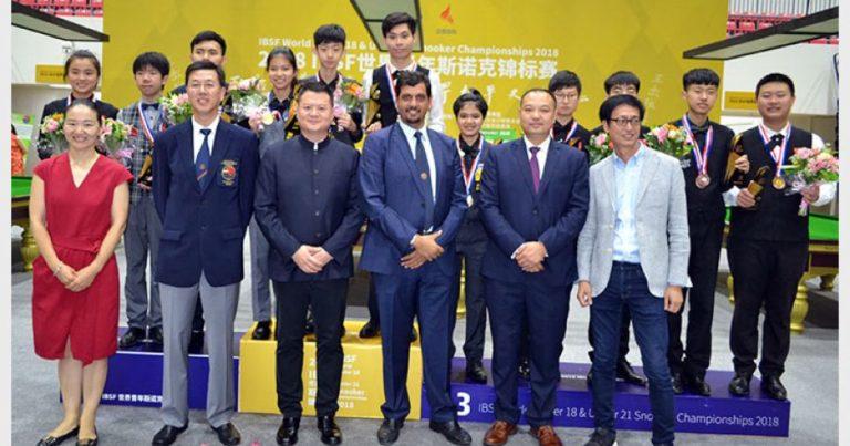 Китайско-тайские финалы на чемпионате мира