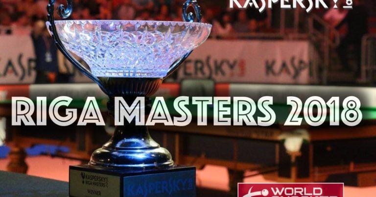 Квалификация на Рига Мастерс 2018