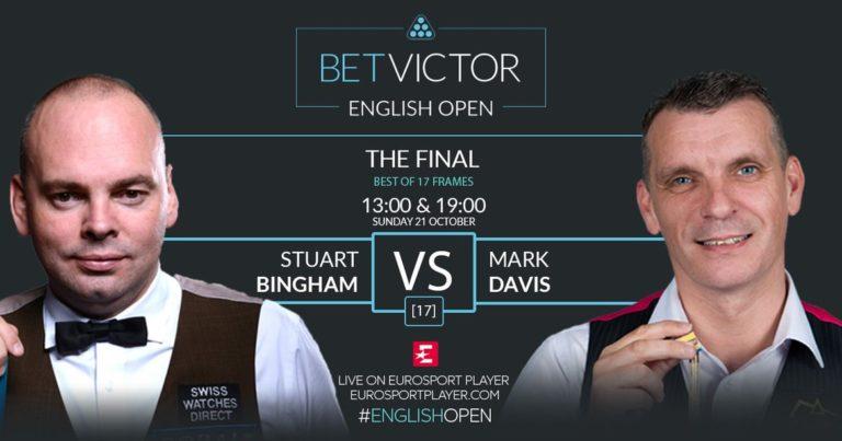 Финал English Open 2018: Бингем — Дэвис 4:4