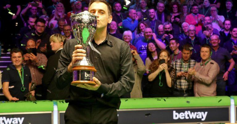 Ронни О'Салливан — победитель Чемпионата Британии 2018!