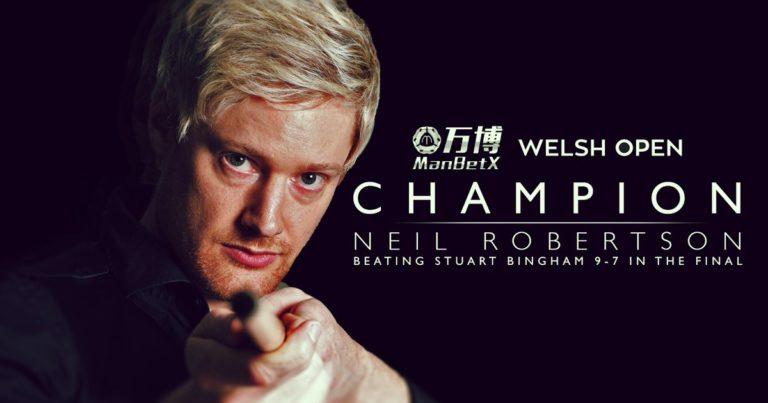 Нил Робертсон — победитель Welsh Open 2019!