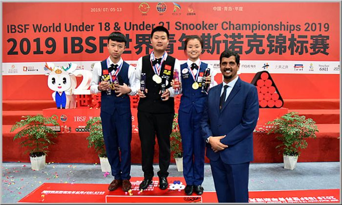 Чемпионат мира по снукеру. Китайский хет-трик