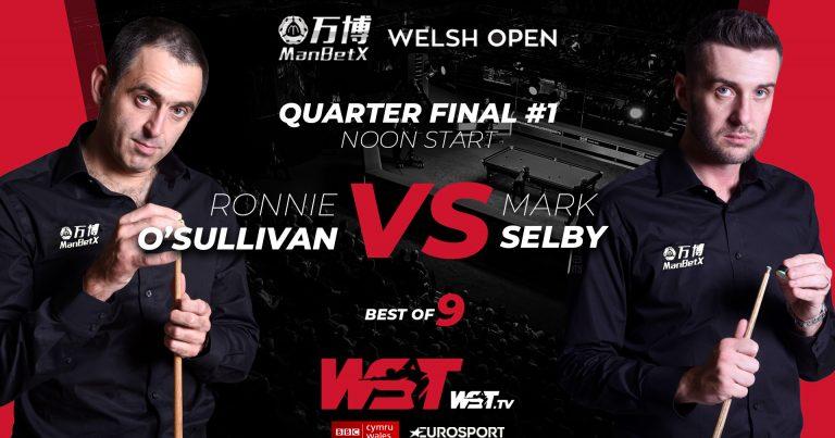 Welsh Open 2020. Четвертьфиналы