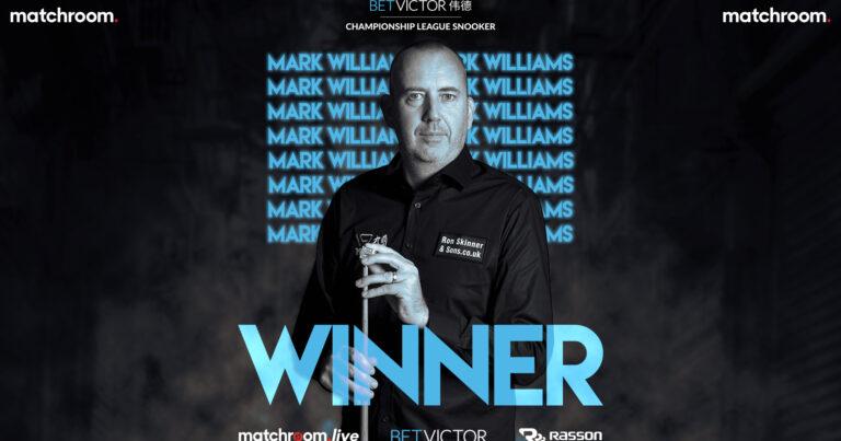 Марк Уильямс — победитель седьмой группы Лиги Чемпионата 2021!