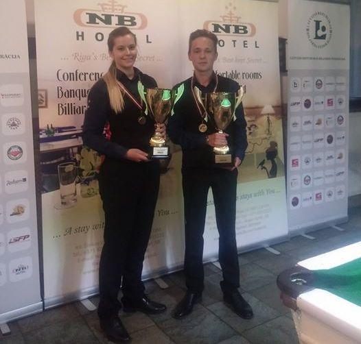 Родион Юдин — трехкратный чемпион Латвии!