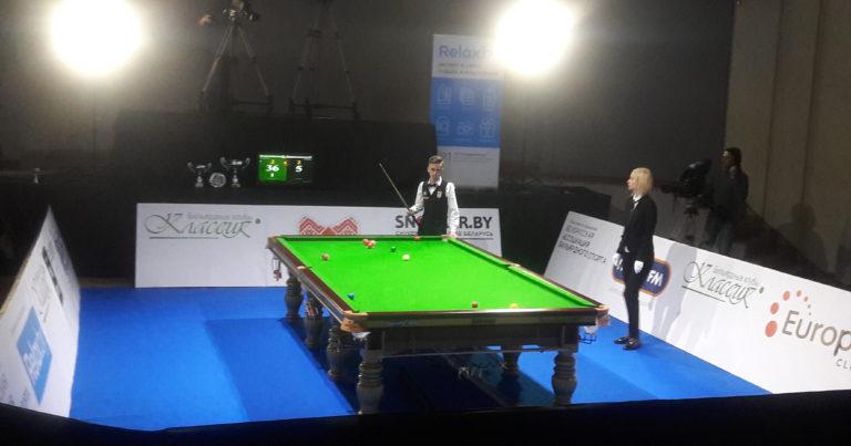 Финал Minsk Snooker Cup: Юдин в контре побеждает Барановски