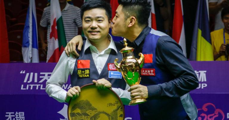 Дин Цзюньху и Лян Вэньбо — победители Кубка мира 2017!