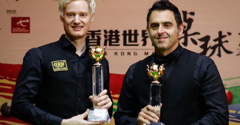 Нил Робертсон — победитель Гонконг Мастерс!