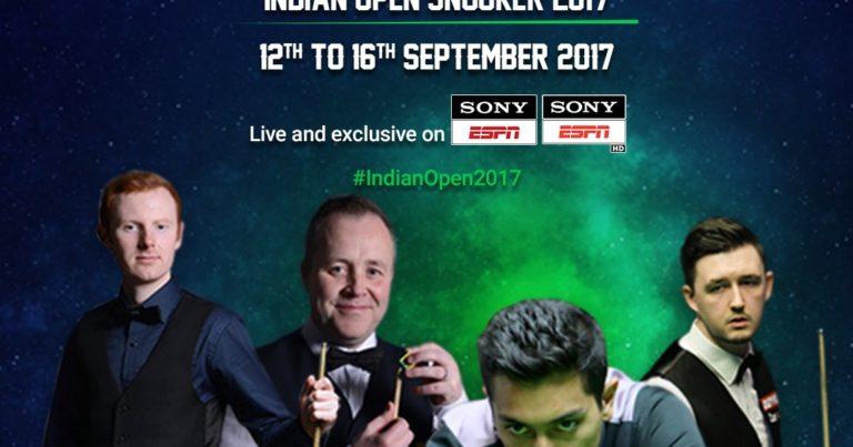 Старт Indian Open 2017