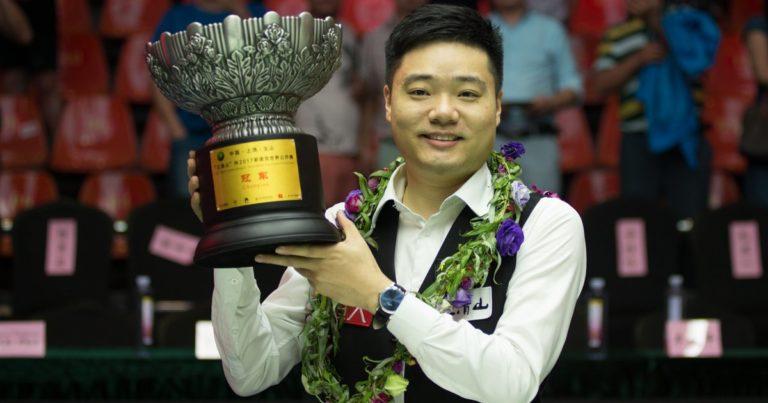 Дин Цзюньху — победитель World Open 2017!
