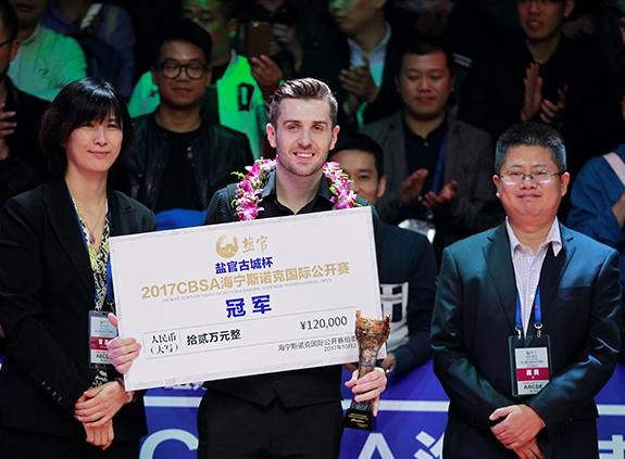 Марк Селби — победитель Haining International Open 2017!