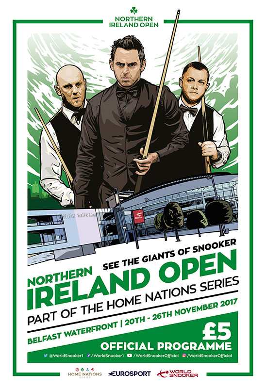 В Белфасте стартует Northern Ireland Open 2017