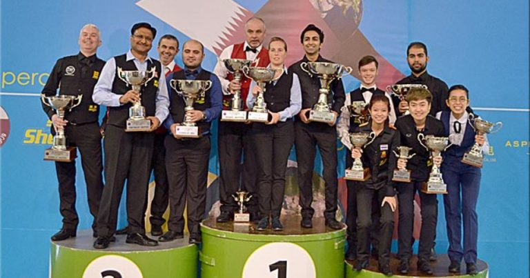 IBSF Чемпионат мира по снукеру-2017. Итоги.