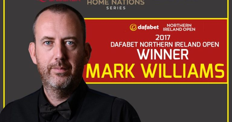 Марк Уильямс — победитель Northern Ireland Open 2017!