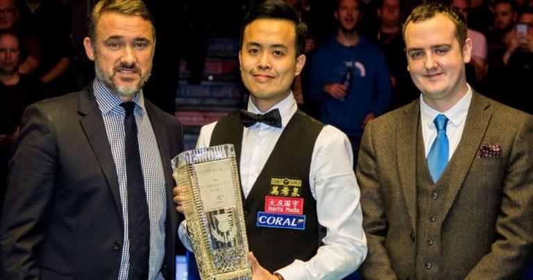 Scottish Open 2017 стартовал в Глазго