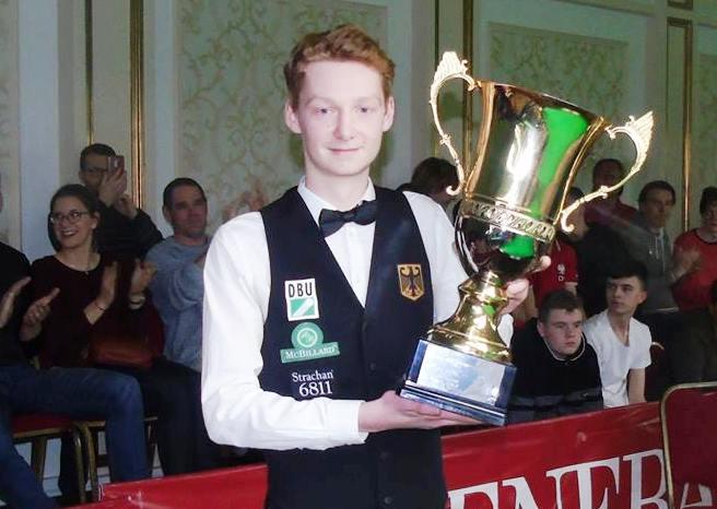Симон Лихтенберг- Чемпион Европы среди игроков до 21 года