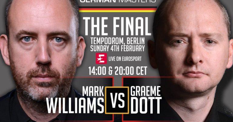German Masters 2018. Финал!