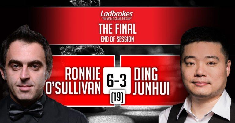 О'Салливан против Дина в финале World Grand Prix