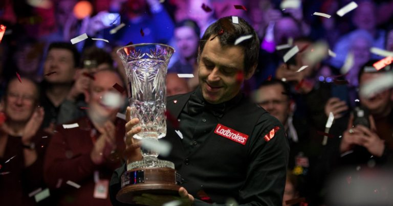 Ронни О'Салливан — победитель Players Championship 2018!