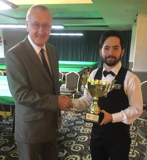 Шахар Руберг — чемпион Европы по снукеру 6-красных