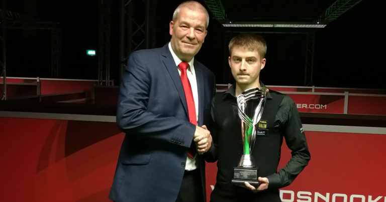 Брендан Серджент — победитель первого турнира челлендж-тура!