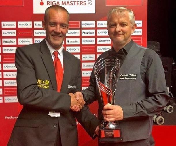 Барри Пинчес — победитель челлендж-тура в Риге