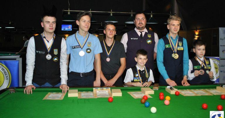 Юлиан Бойко: брейк 123 очка в финале чемпионата Украины