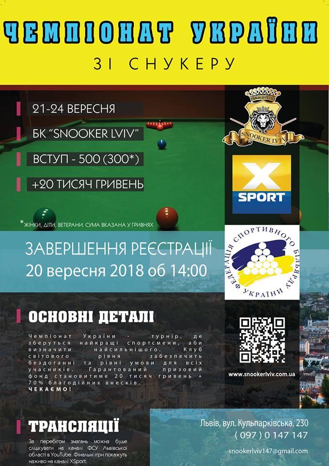 Чемпіонат України 2018 у Львові!