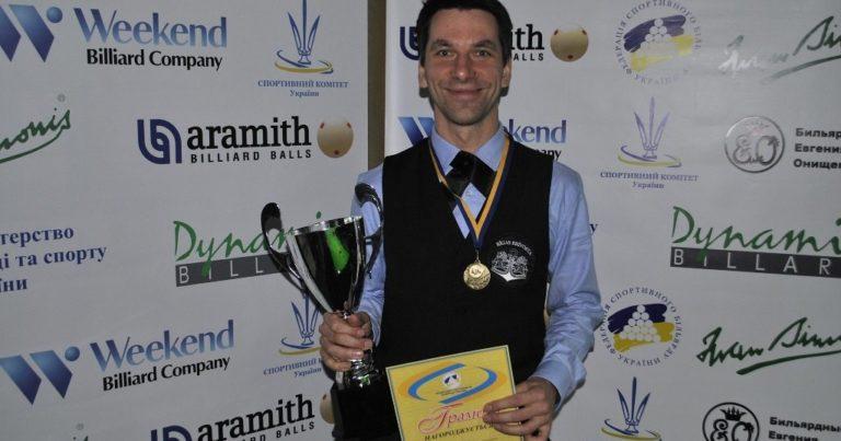Марис Волайс — победитель 4-го этапа Балтийской Снукерной Лиги!