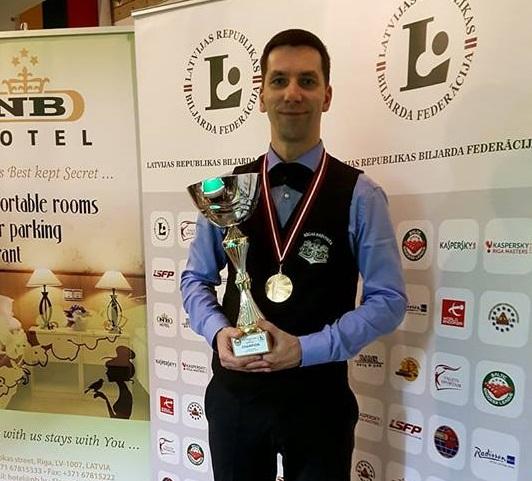 Марис Волайс — победитель Гранд-финала Балтийской Лиги!