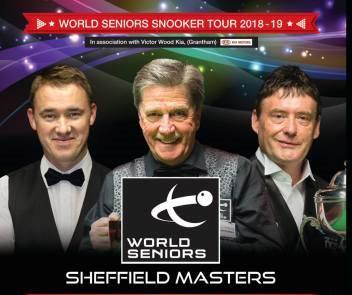 Джо Джонсон — победитель Seniors Masters 2019