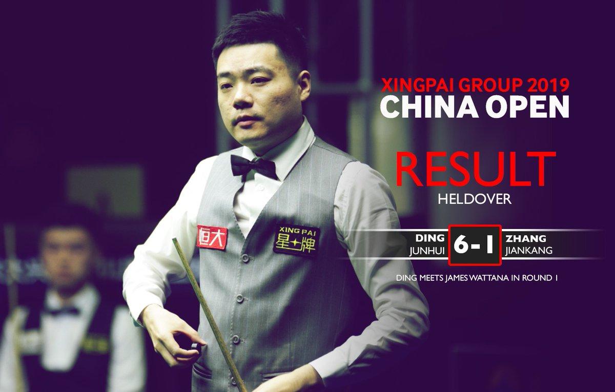Старт China Open. Стэдмэн побеждает Селби