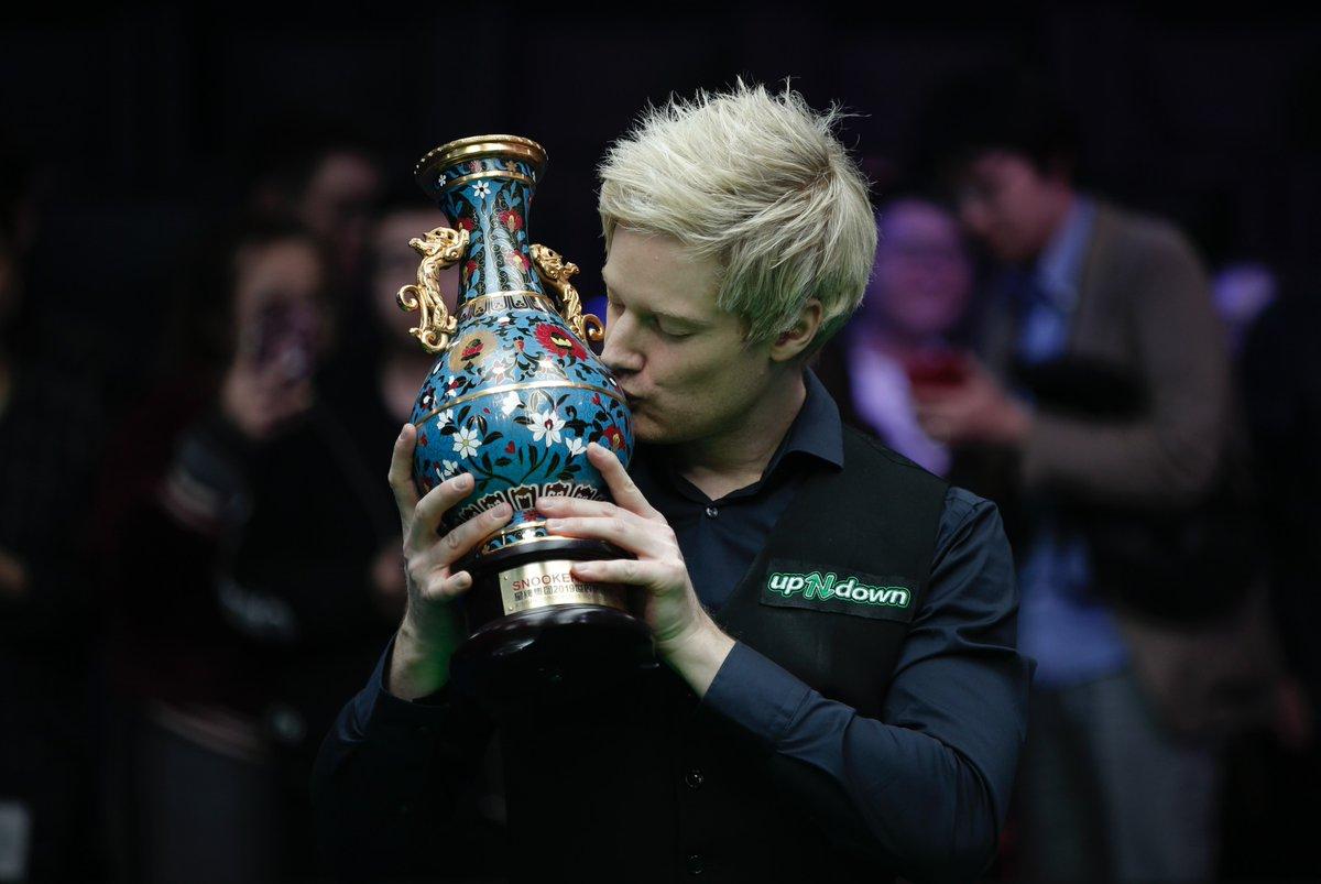 Нил Робертсон — победитель China Open 2019!