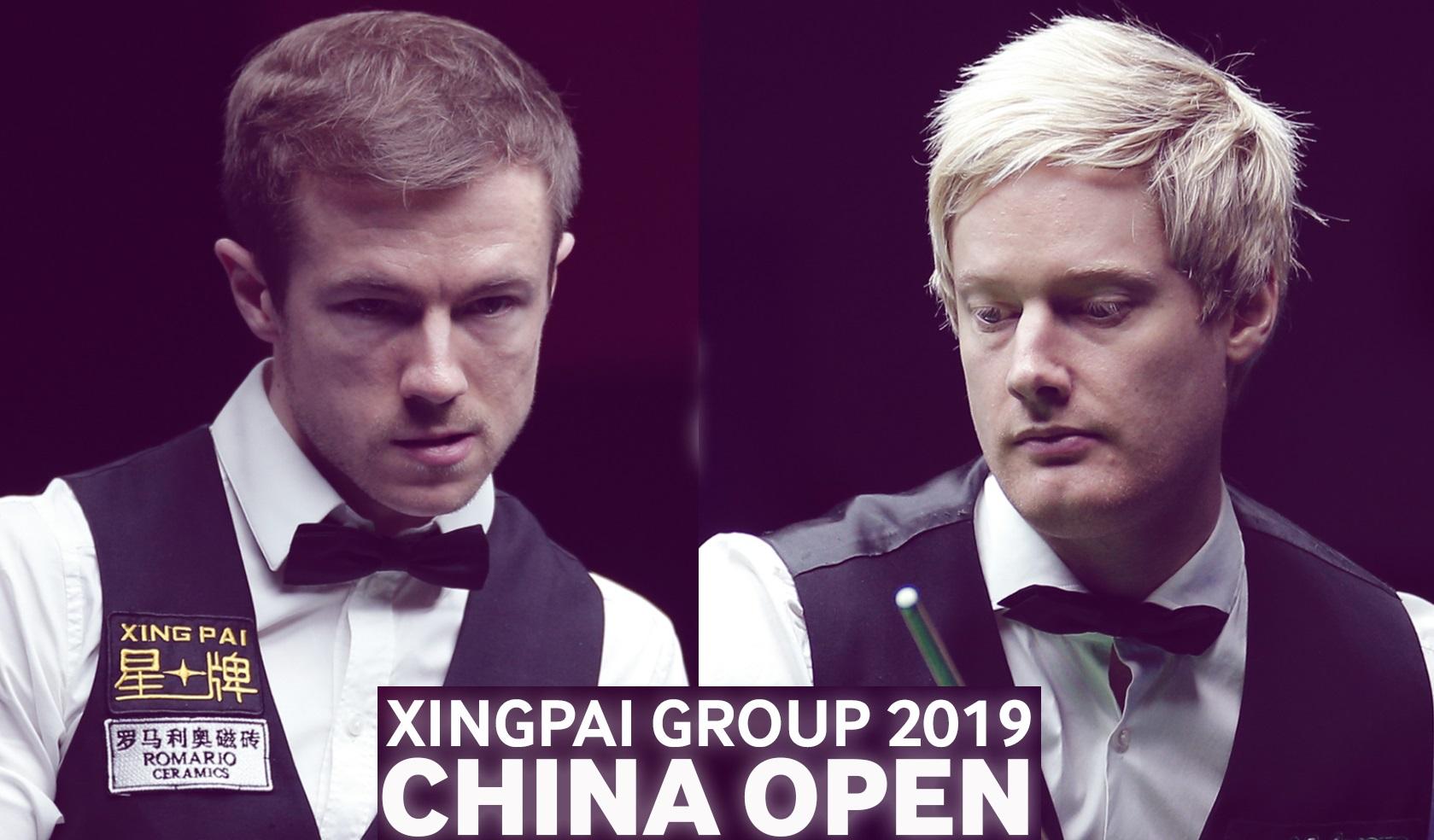 China Open 2019. Финал: Робертсон или Лисовски?