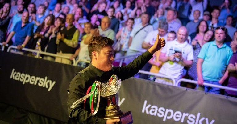 Янь Бинтао — победитель Рига Мастерс 2019!