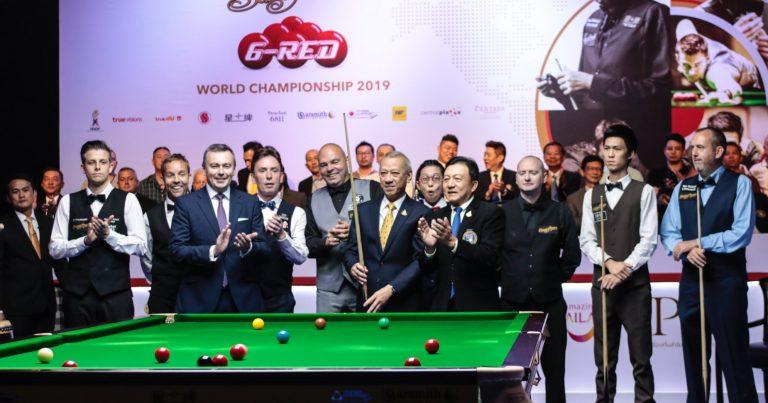 В Бангкоке стартовал чемпионат мира по снукеру 6-красных