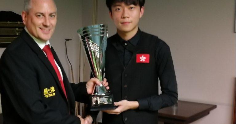 Ка Вай Чун — победитель первого турнира челлендж-тура!