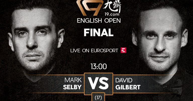 Финал English Open 2019: Селби против Гилберта