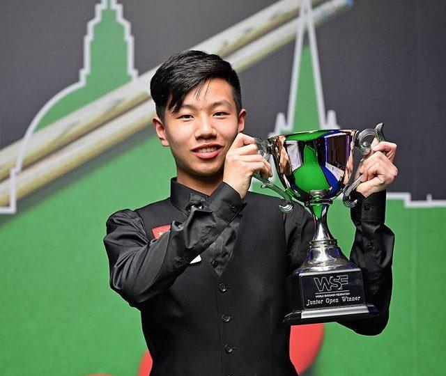 Гао Ян — 15-летний профессионал