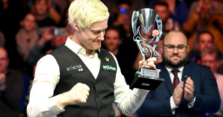 Нил Робертсон — победитель European Masters 2020!
