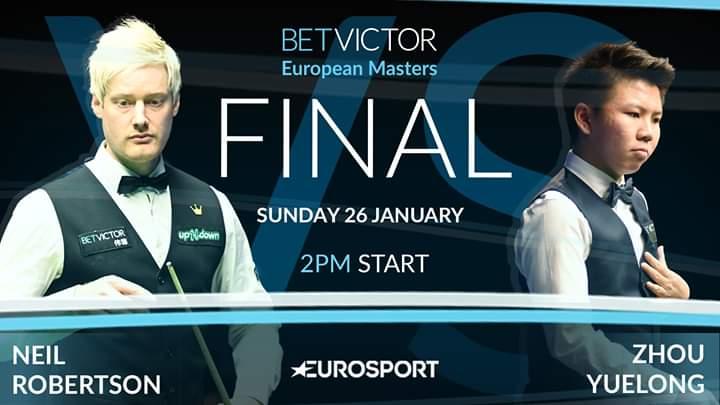 European Masters 2020. Первый финал китайца Чжоу