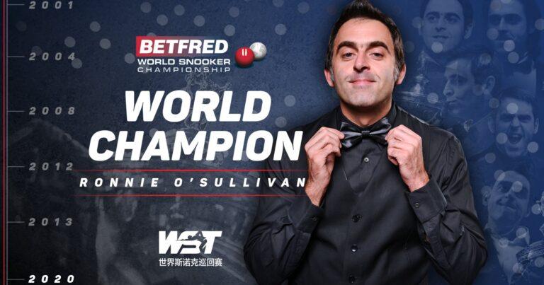 Ронни О'Салливан — чемпион мира 2020!