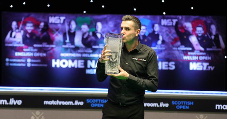 Scottish Open. Марк Селби повторил рекорд Стивена Хендри