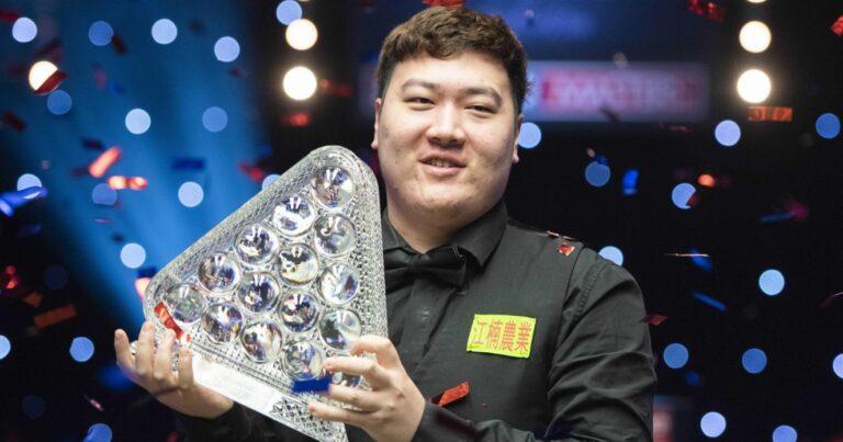Янь Бинтао — победитель Мастерс 2021!