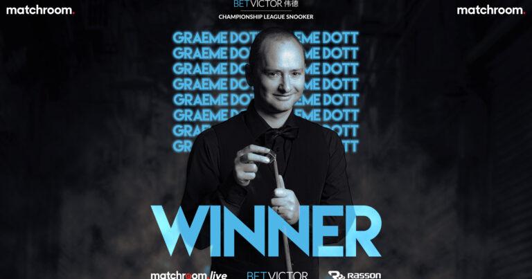 Грэм Дотт — победитель второй группы Лиги Чемпионата!